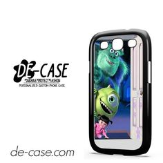 Monster Inc In Door DEAL-7398 Samsung Phonecase Cover For Samsung Galaxy S3 / S3 Mini