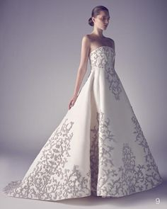 Fall in Love with the Ashi Studio Spring Summer 2015 Couture collection filled with contemporary wedding dress options for the avant garde bride.