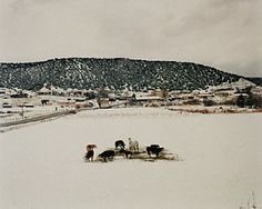 NEW MEXICO. Las Trampas, New Mexico, Alex Harris, negative 1984, print 1993. © Alex Harris. Gift of Nancy and Bruce Berman