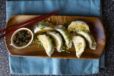spring vegetable potstickers | smittenkitchen.com