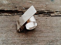 Sterling Silver minimalist handmade ring by STUDIO JAA-PT