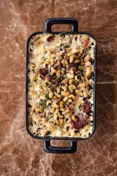 Thanksgiving Side Dish | Field Pea Gratin