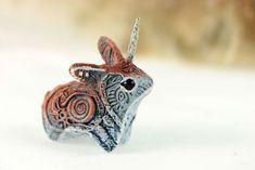 Unicorn Jackalope II by hontor.deviantart.com on @deviantART