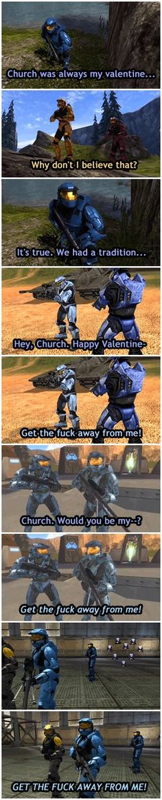 Church and Caboose's valentine tradition