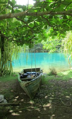 Blue Lagoon, Jamaica | Natural streams and greens make the awe-inspiring Caribbean region a must visit for travelers seeking true adventure.
