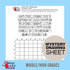 Peacock Mystery Grid Drawing Worksheet for... by MessyArtTeacher | Teachers Pay Teachers Nancy Miller, Grid Puzzles, Messy Art, Drawing Sheet, Math Art, Early Finishers, Teacher Blogs, Peacock, Worksheets