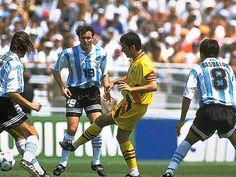 Octavos: La eliminación argentina ante Rumania: 3x2 (USA/1994)