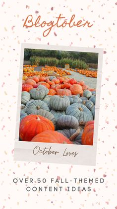 Over 50 autumn content ideas covering popular niches such as lifestyle, food and recipes, fashion, travel, home decor and interior design, and more. #blogtober #october #halloween #autumn #fall #contentcreator #blogger Autumn Theme, Beautiful Pictures, Content, Halloween, Rose, Fall, Blog, Travel, Design
