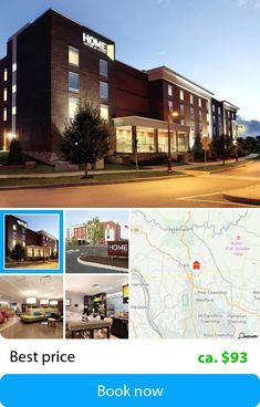 Home2 Suites by Hilton Pittsburgh Cranberry, PA (Cranberry Township, USA) – Book this hotel at the cheapest price on sefibo.