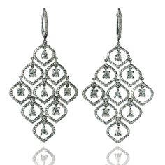 F-G/VS Diamond Pave, H-I/SI cts. Diamond Jewelry, Gold Jewelry, Diamond Earrings, Jewelry Necklaces, Fine Jewelry, Jewellery, Bright Pillows, David Webb, Pear Shaped Diamond