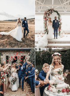 These are our 10 very favorite weddings of 2019 - Bridal Musings Stunning Wedding Dresses, Wedding Dresses Photos, Creative Wedding Inspiration, Beach Wedding Photos, Bridal Musings, Wedding Pinterest, Woodland Wedding, Celebrity Weddings, Wedding Styles