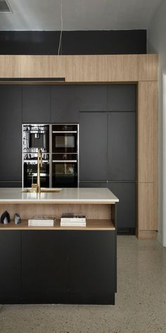 """The """"In-deco"""" kitchen design trend sees the perfect balance between modern industrial with influences of Art Deco."""