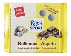 ritter sport rollmops-aspirin