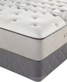 Sealy Posturepedic Bay Lane Tight Top Plush Queen Mattress Set