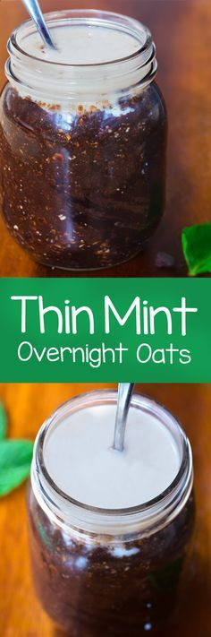 love Girl Scout cookies, these overnight oats were made with you in mind.you love Girl Scout cookies, these overnight oats were made with you in mind. Thin Mints, Breakfast Time, Breakfast Recipes, Breakfast Ideas, Breakfast Healthy, Breakfast Smoothies, Mexican Breakfast, Second Breakfast, Breakfast Sandwiches