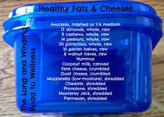 Blue Container: Healthy Fats Cheeses #21DayFix (1/3 Cup)