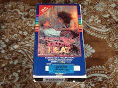 Killing Heat (VHS, 1985) Rare OOP 1st Key Video! Cult Karen Black! *NOT ON DVD*