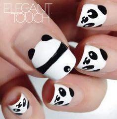 WeiboElegantTouch estilo elegante maquillaje de belleza Tendencias uñas salón de…