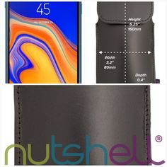 Samsung Galaxy J4 Core Smartphone Holster  #leather #belt #nutshell #loop #holster #cases #smartphone #samsung #iphone #LongLife