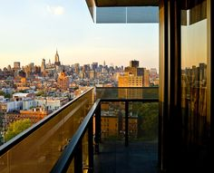 The hotel impresses with an atmosphere that is modern, moody and exceptionally cool. Thompson LES New York Home Nyc, Hotel Branding, Manhattan New York, City Living, Hotel Reviews, San Francisco Skyline, Airplane View, Trip Advisor, New York City