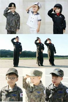 Daehan Minguk Manse on their military service