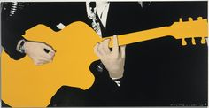 Bid now on Person with Guitar (Yellow) by John Baldessari. View a wide Variety of artworks by John Baldessari, now available for sale on artnet Auctions. John Baldessari, Cropping Photography, Chicago Murals, Trail Of Tears, Art Advisor, Unusual Art, National Gallery Of Art, Ways Of Seeing, Painting Videos