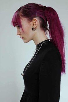 Cerise hair