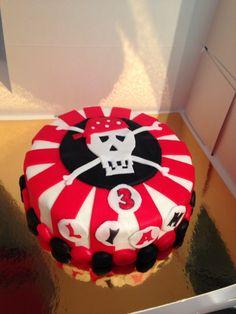 Piratkake til gutt 3år