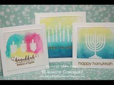 Whimsy Hanukkah Watercolor Cards