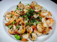V létě člověk nechce strávit hodiny u plotny, tak je dobré vařit něco jednoduchého. Shrimp, Meat