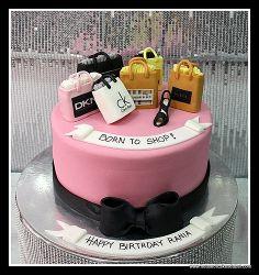 born to shop cake dubai