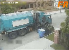 Angry Garbage Truck