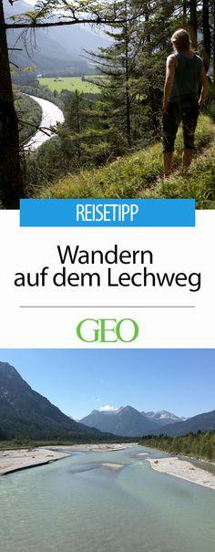 Der Lechwanderweg: Der Weitwanderweg führt entlang des Lechs - einer der letzten Wildflüsse Europas - und gilt auch für Einsteiger als machbare Alpenwanderung. Zum fünfjährigen Jubiläum des Weges stellen wir ihn in Bildern vor