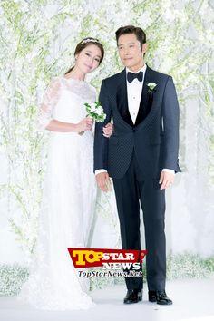 Lee Min Jung #Wedding #LeeByungHun #kdrama