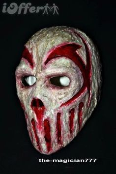 21ac29a103eb54 Rare Gift Slipknot Mushroomhead Costume Halloween Rock Band Latex Mask FREE  SIZE  109.00 Scary Halloween Masks