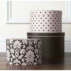 Vintage hat boxes or sewing boxes to decorate the room with and use for storage. Description from pinterest.com. I searched for this on bing.com/images