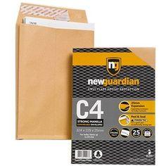 New Guardian Peel And Seal Gusset Envelopes - Ireland Envelopes, Seal, Ireland, Office Supplies, Irish, Harbor Seal