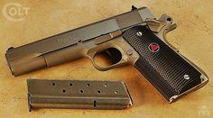 Manufacturer: Colt Mod. Delta Elite Type - Tipo: Pistol Caliber - Calibre: 10 mm Auto Capacity - Capacidade: 7 Shot Barrel length - Comp.Cano: 5 Weight - Peso: 40...