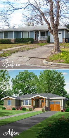 Exterior Home Renovation Ideas to Increase the Curb Appeal of Your Home - Ribbons & Stars