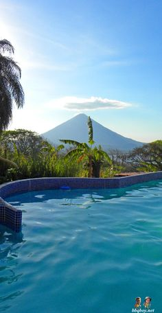 Concepcion Volcano, Isla Ometepe. More on this beautiiful island: http://bbqboy.net/photo-essay-sunsets-and-volcanoes-in-isla-ometepe-nicaragua/