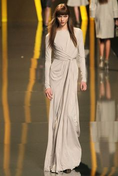 Elie Saab dress. Islamically modest evening wear anyone?  I'd totally wear this