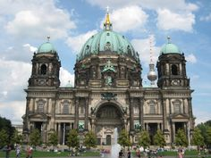 Berliner Dom, Berlin was originally constructed in the 16th century, however today's massive church was built in 1905 and is the largest Protestant church in Germany.