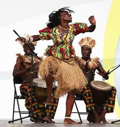 Angola show. Shanghai - August Artists, in colorful costumes, perform on stag , African American Art, African Art, African Style, African Culture, African History, Photos Du, Stock Photos, African Dance, Tribal Dance