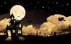 Happy Halloween Scary Wallpaper | FreeDeskWallpapers.com