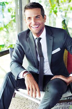 something about him just does it for me Classic and pretty, Bradley Cooper's not too terrible to look at either...
