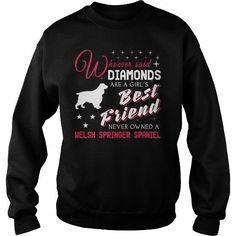 DIAMONDS GIRL WELSH SPRINGER SPANIEL  CREW SWEATSHIRTS T-SHIRTS, HOODIES ( ==►►Click To Shopping Now) #diamonds #girl #welsh #springer #spaniel # #crew #sweatshirts #Dogfashion #Dogs #Dog #SunfrogTshirts #Sunfrogshirts #shirts #tshirt #hoodie #sweatshirt #fashion #style