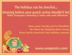 Happy Thanksgiving from the Zoeganics Family!