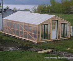 Hello,I built this garden greenhouse with old windows and recycled door.Covering with poly. Size 15 ft x 25 ftBuilding steps:Step 1: How to Anchor a Greenhouse to groundStep 2: Secure the greenhouse base to anchorsStep 3: How to build the side walls structureStep 4: How to build front and end wallsStep 5: How to build roof trusses for a greenhouseStep 6: How to install greenhouse plasticStep 7: Greenhouse base edging idea and exterior finishing workStep 8: Greenhouse interior finishingStep…