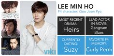 F4: Where Are They Now? #LeeMinHo is, and always will be, #GooJoonPyo in our hearts.