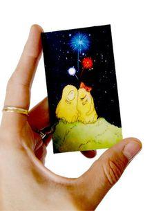 Art Magnet Monster Magnet Little Monsters in by LittleGreenGuy, $1.00